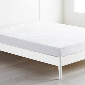 "Brighton 6"" Gel Memory Foam Mattress - Grey"