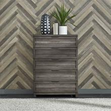 View Product - Tanners Creek -  5 Drawer Chest in Greystone Finish