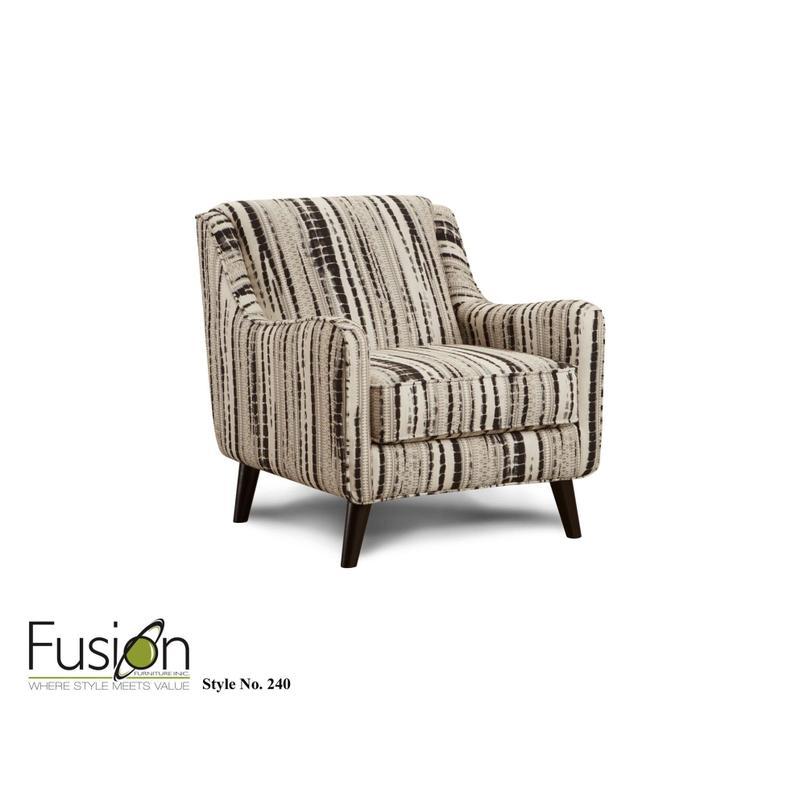 Shibori Peppercorn Accent Chair