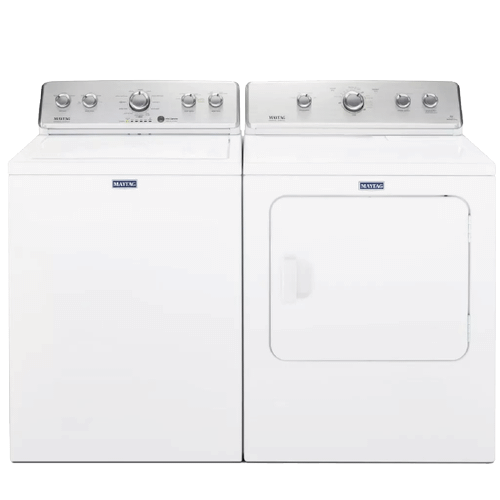 MAYTAG Large Capacity 3.8 cu. ft. Top Load Washer & 7.0 cu. ft. Electric Dryer