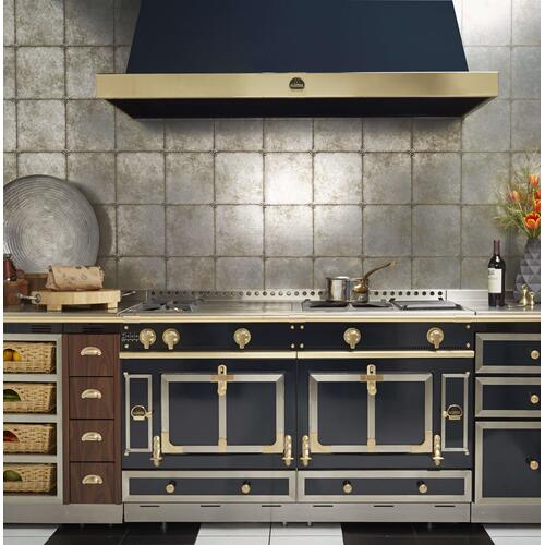 Chateau 150 (K3) - 2-Gas Burners - 1-French Plaque  - 2-Gas Burners - 2-Induction Burners