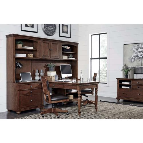 Modular Desk Oxford Whiskey Brown