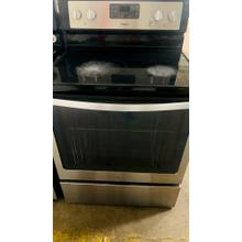 Product Image - USED- 6.4 Cu. Ft. Freestanding Electric Range with AquaLift® Self-Cleaning Technology- E30SSGLAS-U    SERIAL #79