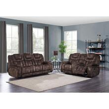 Power Reclining Sofa w/ Power Headrest	Night Range Chocolate