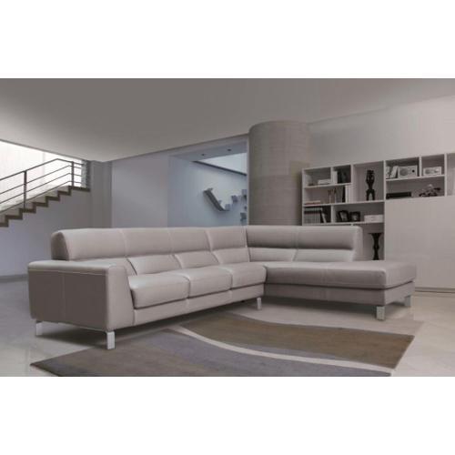 Simon Italian Leather Sofa and Loveseat by Nicoletti Calia