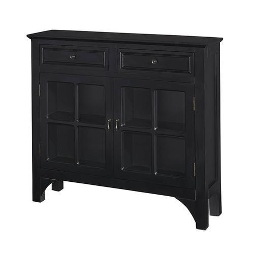 Console Cabinet in Black