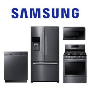 Samsung 4 Piece Black Stainless Kitchen Package. Price Valid Thru 2/3/21.