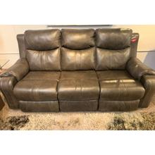 View Product - Marvel Power Reclining Foot & Headrest Sofa - Fossil