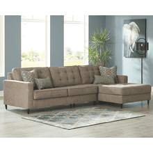 Flintshire - Auburn - 2-Piece Sectional with Right Facing Chaise