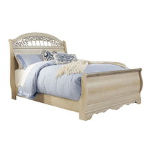 See Details - Catalina- Antique White- Queen Sleigh Bed