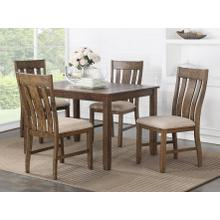 AVALON D00131 Cadbury 5-Piece Dinette- Table And 4 Chairs