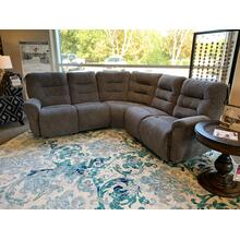 Unity Charcoal Power Sectional