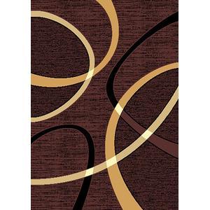 American Cover Design - Medium - Contempo 40 Chocolate 5x8 Rug
