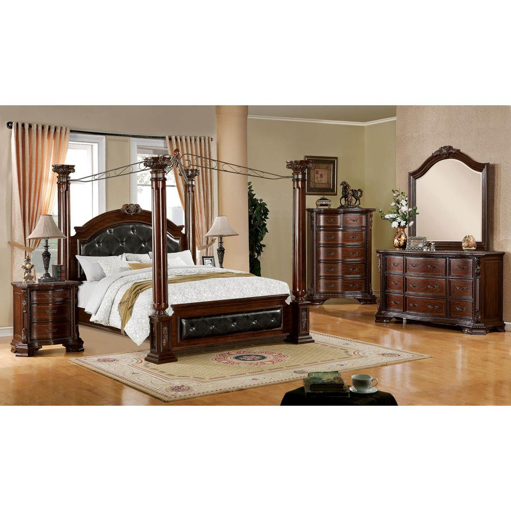 Mandalay 4Pc Cal King Bed Set