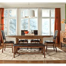 See Details - Santa Clara Backless Dining Bench