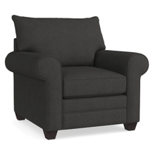 Alex Roll Arm Chair - Charcoal