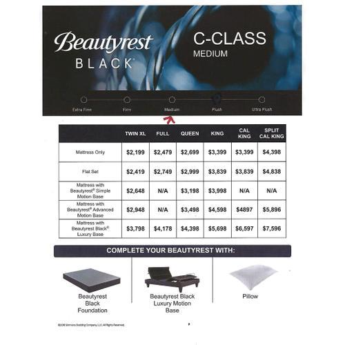 Beautyrest Black - C-Class - Medium - Queen