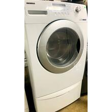 See Details - USED- 3.79 cu. ft. High Efficiency Front Load Washer w/ Built-in Water Heater- FLWAS27W-U  SERIAL #134