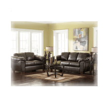 Durablend Brown Sofa and Loveseat