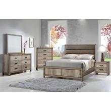 See Details - Matteo Queen Bedroom Set: Queen Bed, Nightstand, Dresser & Mirror