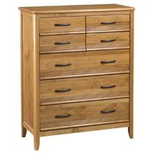 GSP 7Drawer Pacific Chest Glazed Spice Finish