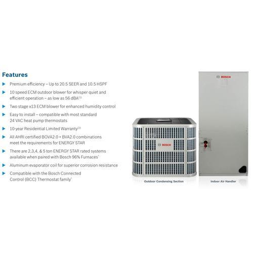 IDS 2.0 Inverter Ultra Hi-Efficiency Heat Pump - 4-5 Ton