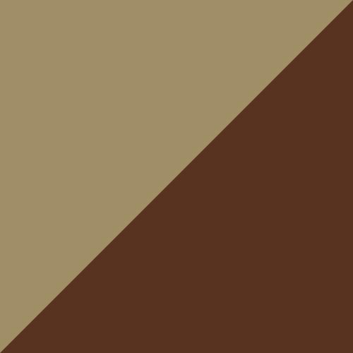 Adirondack Glider 2' Weatherwood and Chestnut Brown