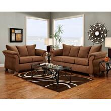 Aruba Chocolate Loveseat