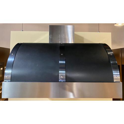 Superiore HD361BTNC    Hood DECO 36'' Black matte, Chrome 1 blower, electronic buttons control, baffle filters