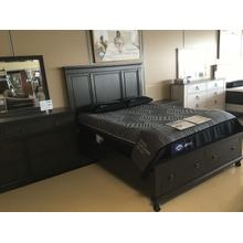 Floor model sale - Devensted - Dark Gray 4 Piece Bedroom Set