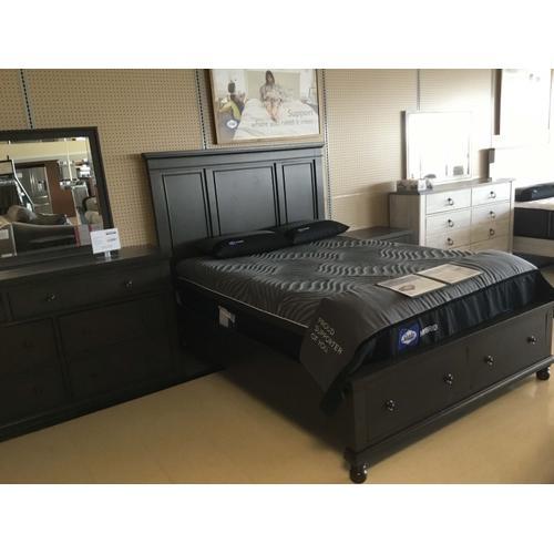 Floor model sale - Devensted - Dark Gray 4 Piece Bedroom Set