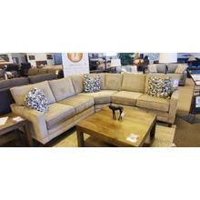 1 Only sectional - Perfect for small spaces!