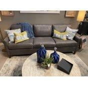 Wellington Leather Great Room Sofa