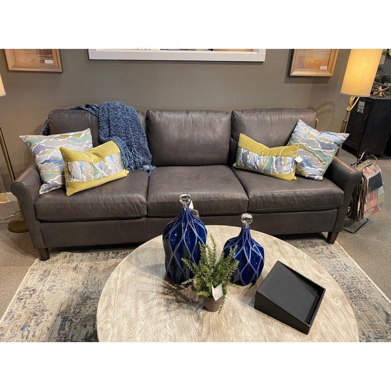 Wellington Leather Great Room Sofa