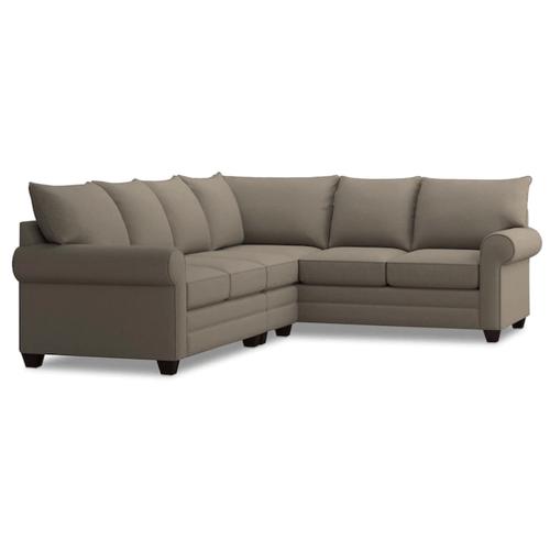 Bassett Furniture - Alex Roll Arm Left Sectional