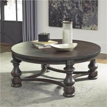 See Details - Larrenton Round Cocktail Table