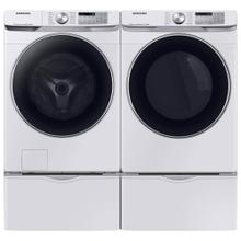 Samsung 4.5 Cu. Ft. High-Efficiency Front Load Washing Machine with Steam and 7.5 Cu. Ft. Electric Dryer with Steam in White