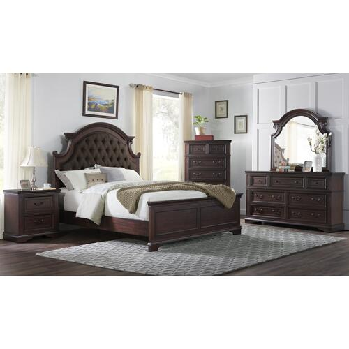 Ashford - Mahogany 6 Piece Bedroom Set