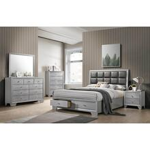 Reem-King Storage Bed
