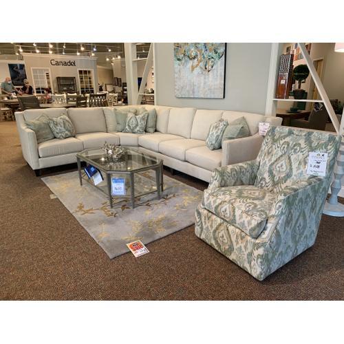 Mayo Furniture - Arazi Mineral Swivel Chair