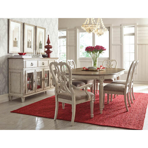 Southbury Dining Table & 4 Side Chairs
