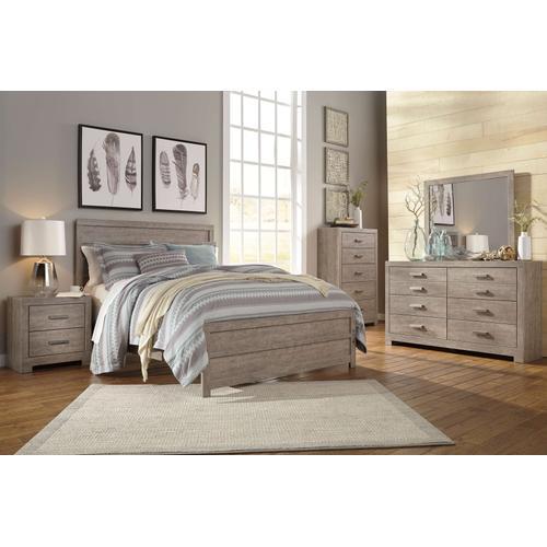 Packages - Culverbach - Queen Panel Bed, Dresser, Mirror, & 1 X Nightstand