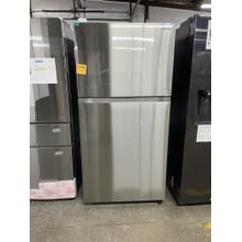 21 cu. ft. Top Freezer Refrigerator with FlexZone™ in Stainless Steel *** SCRATCH OR DING ITEM*** 1 YEAR WARRANTY ANKENY LOCATION ***