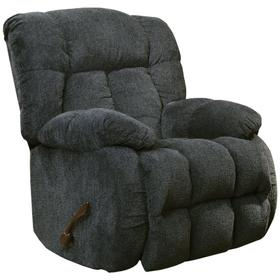 Brody Slate Blue Rocker Recliner