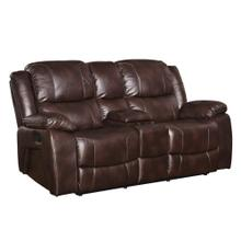 Kenwood Dual Recliner Console Loveseat
