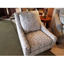 See Details - Bauhaus Accent Chair in Balmoral Slate Fabric