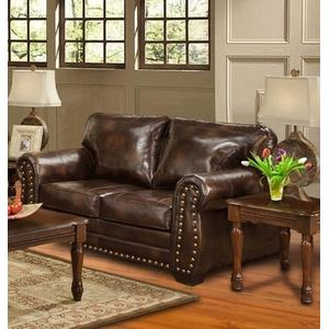 Kaylas Furniture - Hacienda Matador Loveseat - Brown