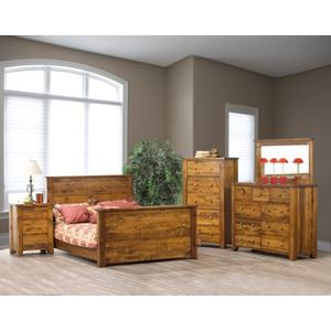 Rough Sawn Bedroom Collection