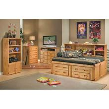 Cheyenne Twin Chest Bed