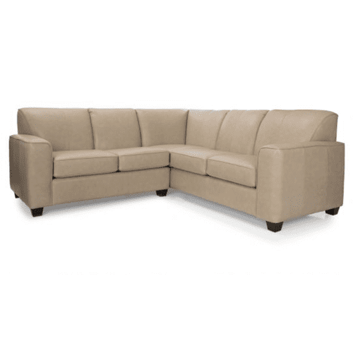 Value plus leather sectional